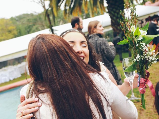 El matrimonio de Rafael y Ximena en El Monte, Talagante 15