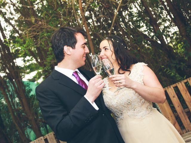 El matrimonio de Rafael y Ximena en El Monte, Talagante 18