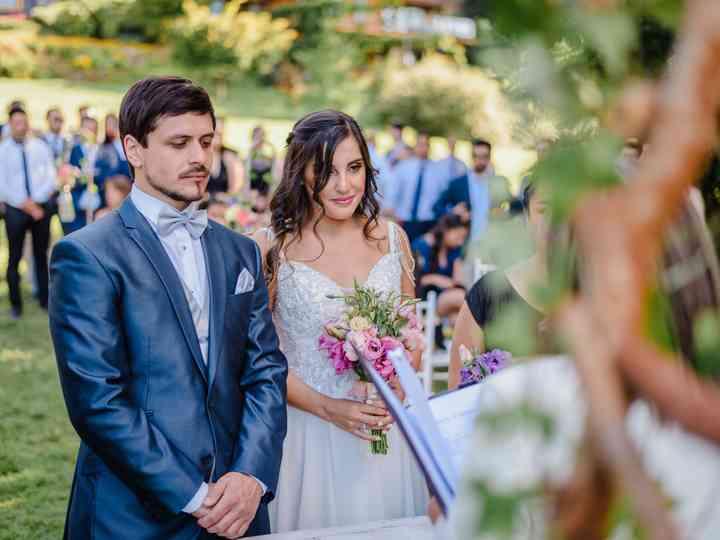 El matrimonio de Paulina y Álex