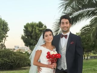 El matrimonio de Pamela  y Sebastián  1