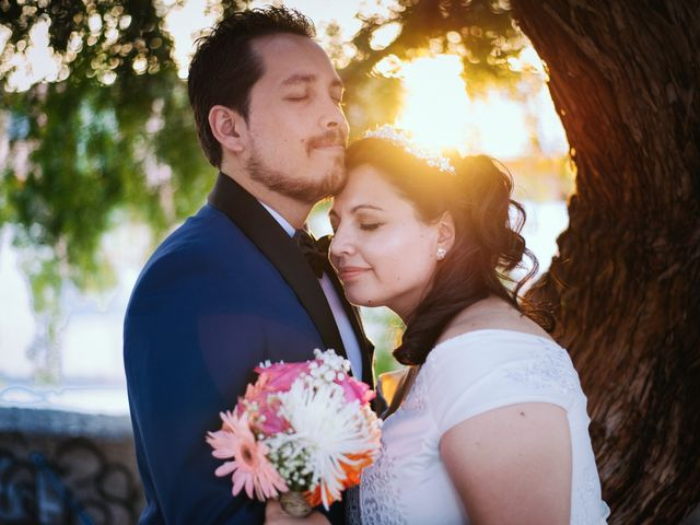 El matrimonio de Romina y Germán
