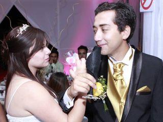 El matrimonio de Nicole y Aldo