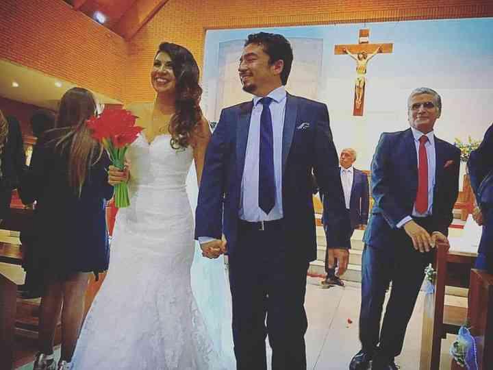 El matrimonio de Paulina y Víctor