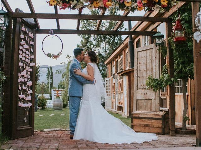 El matrimonio de Natalia y Javier