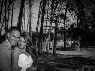 El matrimonio de Montserrat y Franco