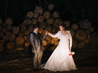 El matrimonio de Karla y Claudio