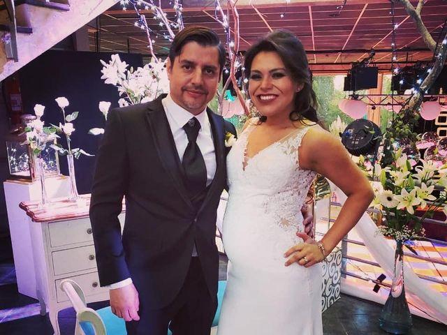 El matrimonio de Regina y Mauricio