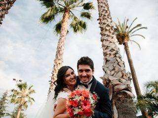 El matrimonio de Daniela y Andrei