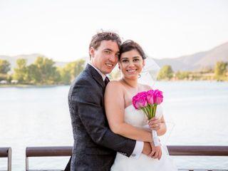 El matrimonio de Pamela y Francisco