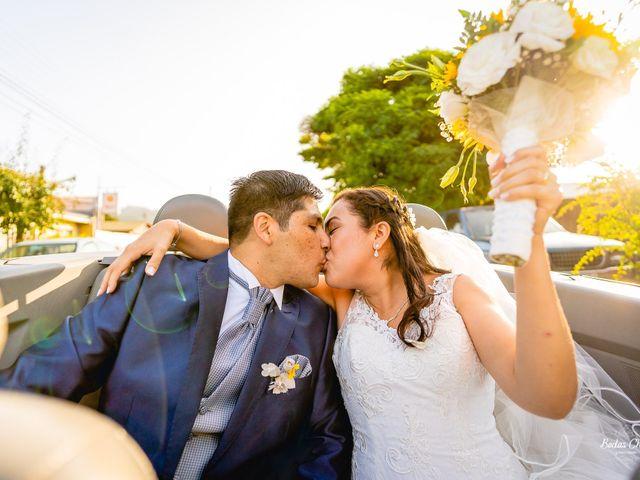El matrimonio de María Eugenia y Esteban