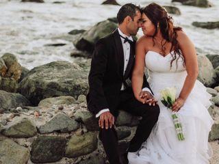 El matrimonio de Anita y Martin