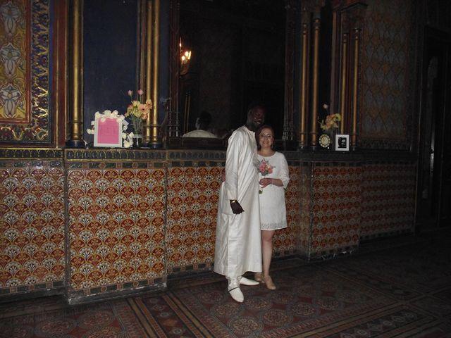 El matrimonio de Sol  y Mamadou