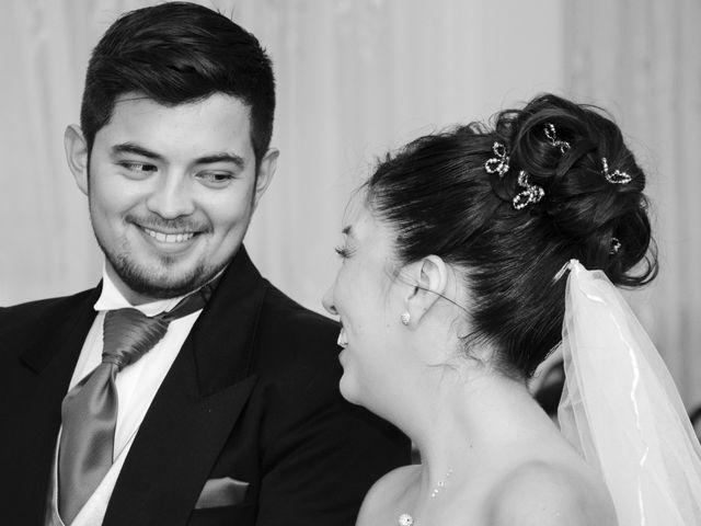 El matrimonio de Evelyn y Franco