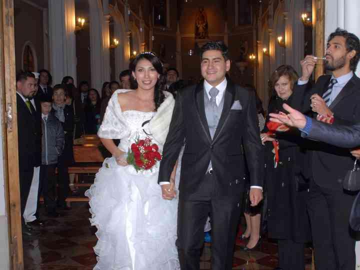 El matrimonio de Mari y Rafa