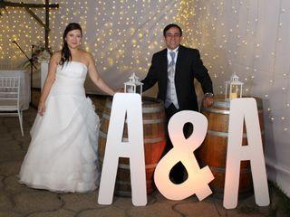 El matrimonio de Andrea y Ángel