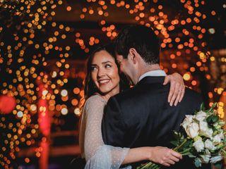 El matrimonio de Estefanía y Tomás