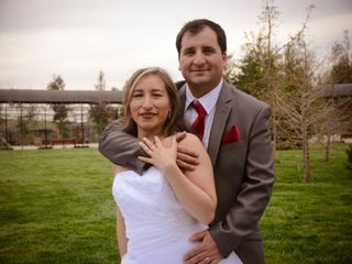 El matrimonio de Olenka y Oscar