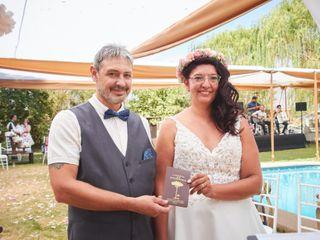 El matrimonio de Evelyn y Olivier