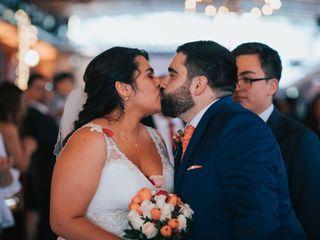 El matrimonio de Ximena y Tomás