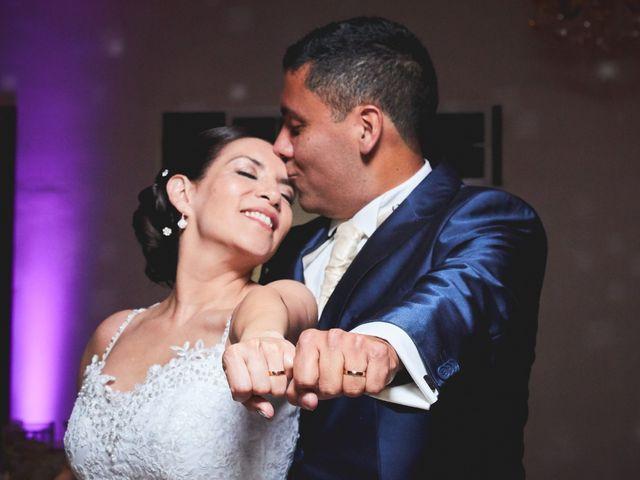 El matrimonio de Valeska y José