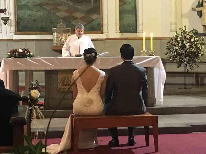 El matrimonio de Leticia  y Pablo
