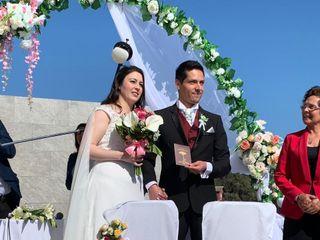 El matrimonio de Jimena y Roberto