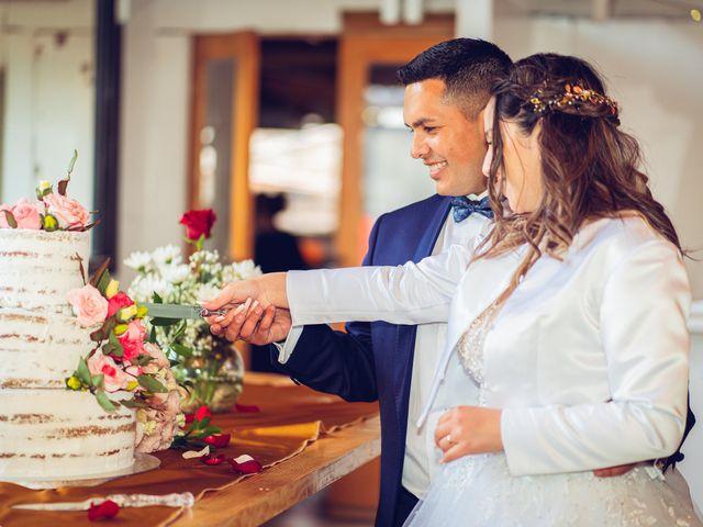 El matrimonio de Belén y Francisco en Calera de Tango, Maipo 35