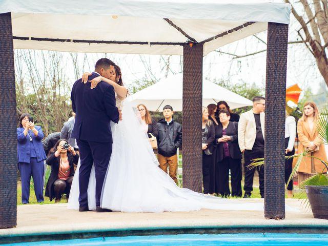 El matrimonio de Belén y Francisco en Calera de Tango, Maipo 75