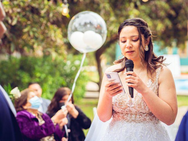 El matrimonio de Belén y Francisco en Calera de Tango, Maipo 100