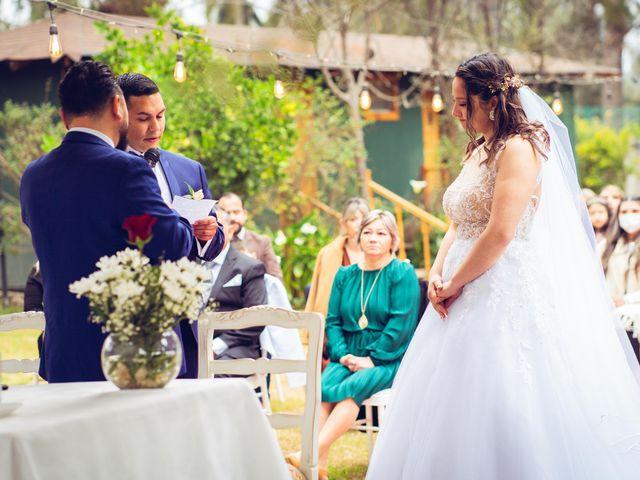 El matrimonio de Belén y Francisco en Calera de Tango, Maipo 104