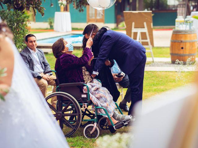 El matrimonio de Belén y Francisco en Calera de Tango, Maipo 109