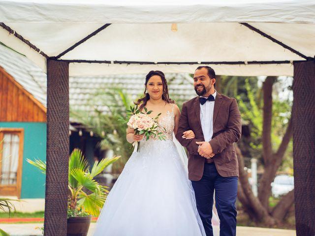 El matrimonio de Belén y Francisco en Calera de Tango, Maipo 121