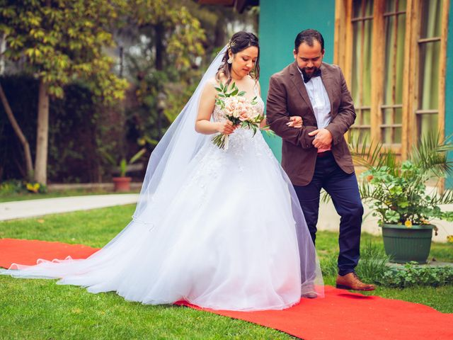 El matrimonio de Belén y Francisco en Calera de Tango, Maipo 123