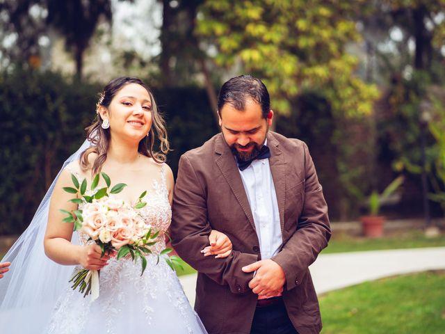 El matrimonio de Belén y Francisco en Calera de Tango, Maipo 124