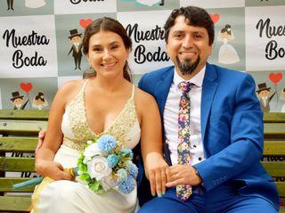 El matrimonio de Giannina y Gustavo