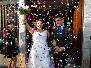 El matrimonio de Susana y  Víctor