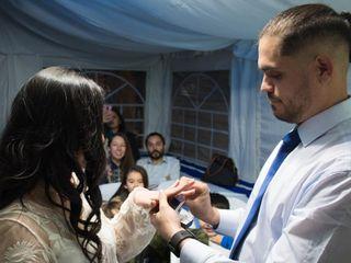 El matrimonio de Daniela  y John  2