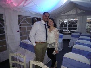 El matrimonio de Daniela  y John