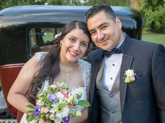 El matrimonio de Camila y Hugo