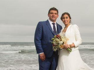 El matrimonio de Loreto y Alberto