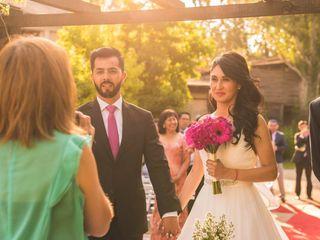 El matrimonio de Andrea y Roberto