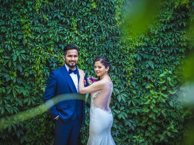 El matrimonio de Leslie y Rafael