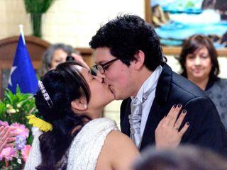 El matrimonio de Hugo  y Gladys