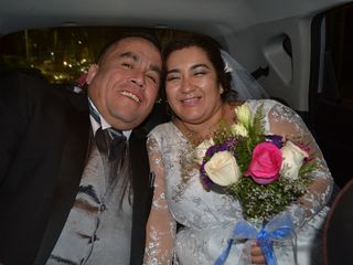 El matrimonio de Celeste y Osvaldo
