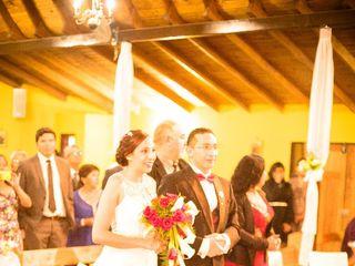 El matrimonio de Jacqueline  y Marco