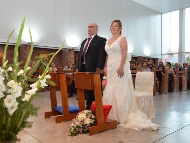 El matrimonio de Hermosina y Juan