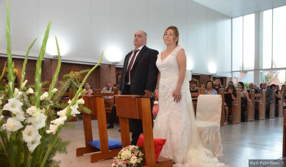 El matrimonio de Juan y Hermosina en Huechuraba, Santiago