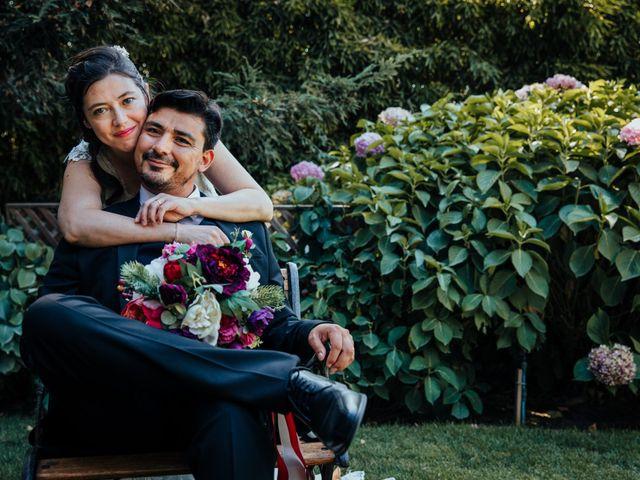 El matrimonio de Alejandra y Miguel