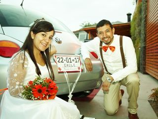 El matrimonio de Omaira y Javier