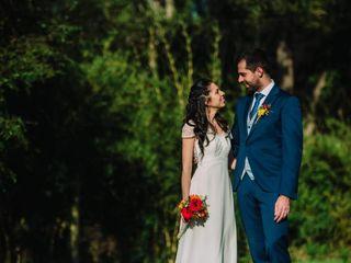 El matrimonio de Nebeska  y Francesc 2